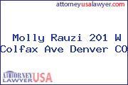 Molly Rauzi 201 W Colfax Ave Denver CO