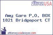 Amy Gare P.O. BOX 1821 Bridgeport CT
