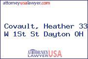 Covault, Heather 33 W 1St St Dayton OH