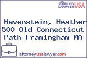 Havenstein, Heather 500 Old Connecticut Path Framingham MA