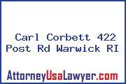 Carl Corbett 422 Post Rd Warwick RI