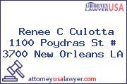 Renee C Culotta 1100 Poydras St # 3700 New Orleans LA