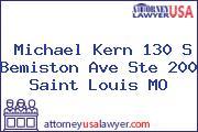Michael Kern 130 S Bemiston Ave Ste 200 Saint Louis MO