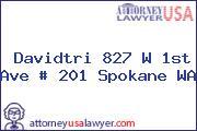 Davidtri 827 W 1st Ave # 201 Spokane WA