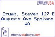 Crumb, Steven 127 E Augusta Ave Spokane WA