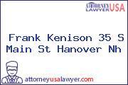 Frank Kenison 35 S Main St Hanover Nh