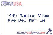 445 Marine View Ave Del Mar CA
