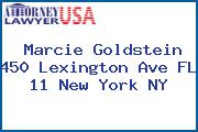 Marcie Goldstein 450 Lexington Ave FL 11 New York NY