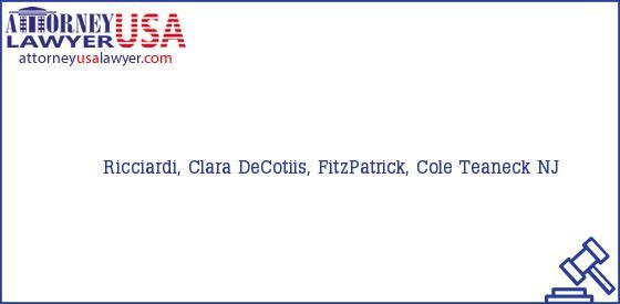 Telephone, Address and other contact data of Ricciardi, Clara, Teaneck, NJ, USA