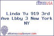 Linda Yu 919 3rd Ave Lbby 3 New York NY