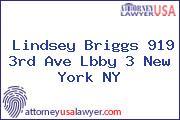 Lindsey Briggs 919 3rd Ave Lbby 3 New York NY
