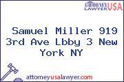 Samuel Miller 919 3rd Ave Lbby 3 New York NY