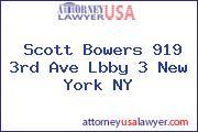 Scott Bowers 919 3rd Ave Lbby 3 New York NY