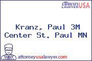 Kranz, Paul 3M Center St. Paul MN