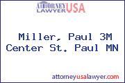 Miller, Paul 3M Center St. Paul MN