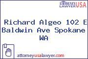 Richard Algeo 102 E Baldwin Ave Spokane WA