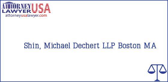 Telephone, Address and other contact data of Shin, Michael, Boston, MA, USA