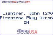 Lightner, John 1200 Firestone Pkwy Akron OH