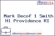 Mark Decof 1 Smith Hl Providence RI