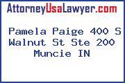 Pamela Paige 400 S Walnut St Ste 200 Muncie IN