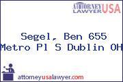 Segel, Ben 655 Metro Pl S Dublin OH