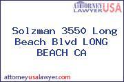 Solzman 3550 Long Beach Blvd LONG BEACH CA