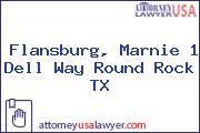 Flansburg, Marnie 1 Dell Way Round Rock TX