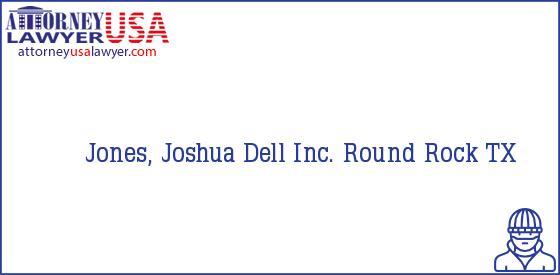 Telephone, Address and other contact data of Jones, Joshua, Round Rock, TX, USA