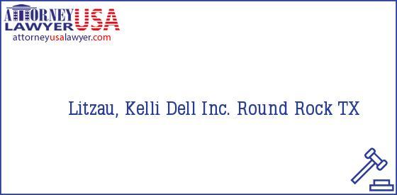 Telephone, Address and other contact data of Litzau, Kelli, Round Rock, TX, USA