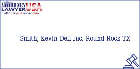Telephone, Address and other contact data of Smith, Kevin, Round Rock, TX, USA