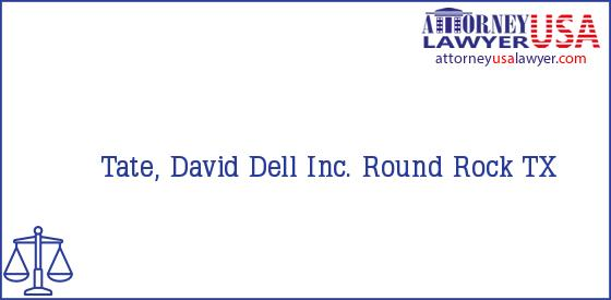 Telephone, Address and other contact data of Tate, David, Round Rock, TX, USA