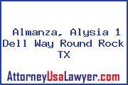 Almanza, Alysia 1 Dell Way Round Rock TX