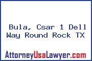 Bula, Csar 1 Dell Way Round Rock TX