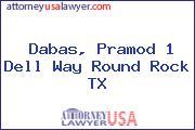 Dabas, Pramod 1 Dell Way Round Rock TX