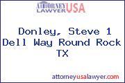Donley, Steve 1 Dell Way Round Rock TX