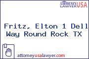 Fritz, Elton 1 Dell Way Round Rock TX