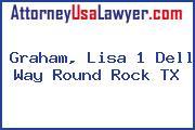 Graham, Lisa 1 Dell Way Round Rock TX