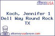 Koch, Jennifer 1 Dell Way Round Rock TX