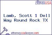 Lamb, Scott 1 Dell Way Round Rock TX