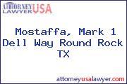 Mostaffa, Mark 1 Dell Way Round Rock TX