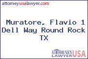 Muratore, Flavio 1 Dell Way Round Rock TX