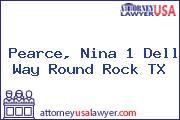 Pearce, Nina 1 Dell Way Round Rock TX