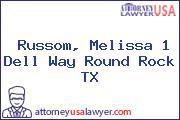 Russom, Melissa 1 Dell Way Round Rock TX
