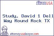 Study, David 1 Dell Way Round Rock TX
