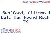 Swafford, Allison 1 Dell Way Round Rock TX