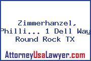 Zimmerhanzel, Philli... 1 Dell Way Round Rock TX