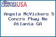Angela McVickers 5 Concrs Pkwy Ne Atlanta GA