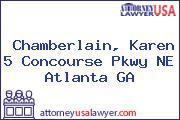 Chamberlain, Karen 5 Concourse Pkwy NE Atlanta GA