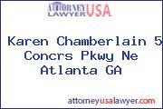 Karen Chamberlain 5 Concrs Pkwy Ne Atlanta GA