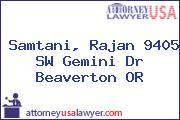 Samtani, Rajan 9405 SW Gemini Dr Beaverton OR